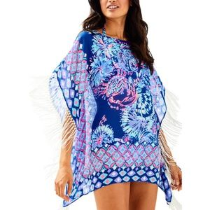 NWT Lilly Pulitzer Gypsea Girl Ginette Coverup XL
